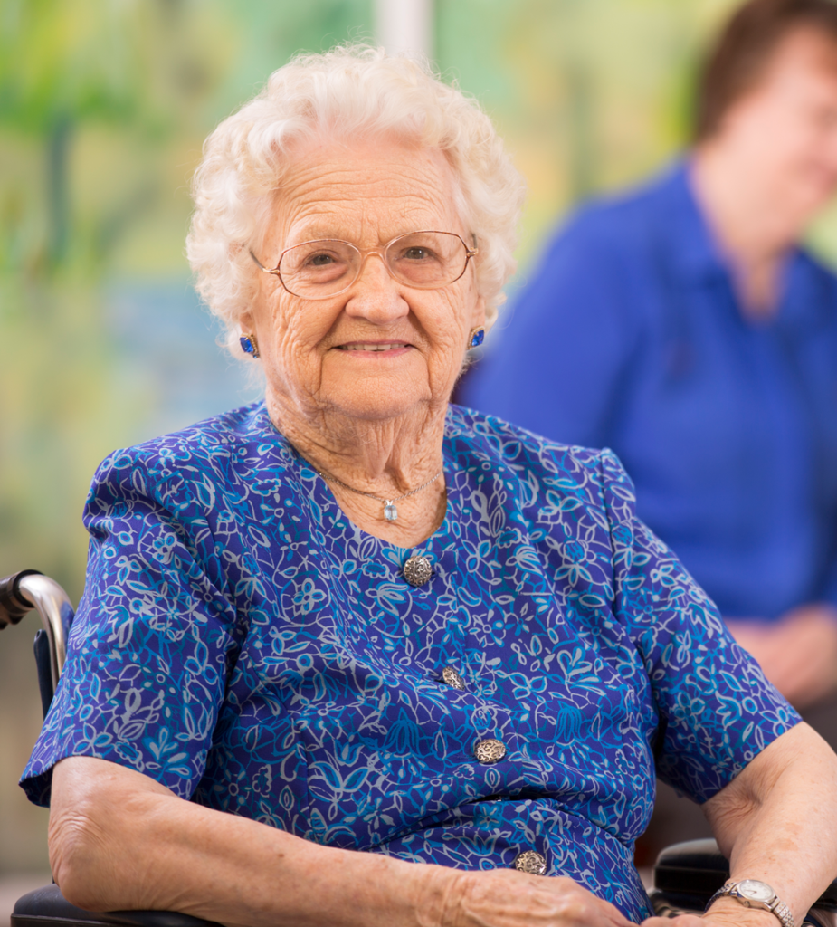 Assisted Living Resident